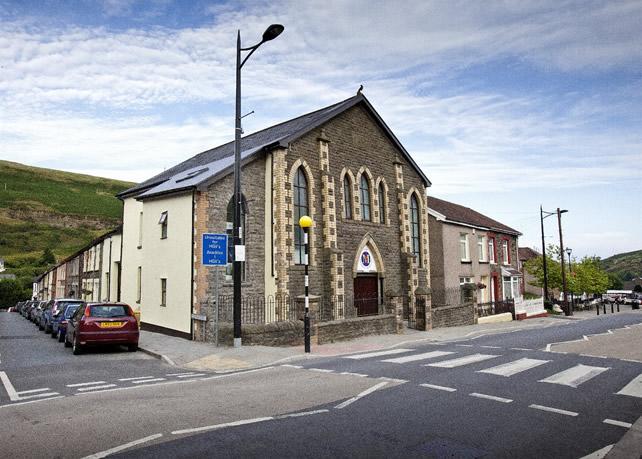 The Morlais Hall, Ferndale, August 2011.