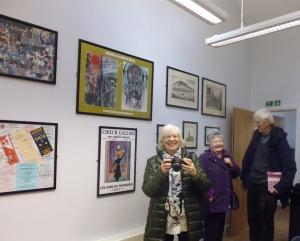 Morlais Hall Visitors, Morgan Family, 2015 001