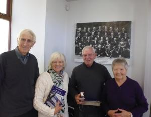 Morlais Hall Visitors, Morgan Family, 2015 012