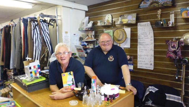 Choir , Rotary Shop August 2015 002