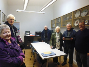 Morlais Hall Visitors, Morgan Family, 2015 003