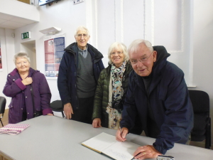 Morlais Hall Visitors, Morgan Family, 2015 004