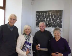 Morlais Hall Visitors, Morgan Family, 2015 012